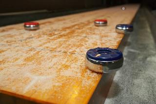 SOLO® Shuffleboard Movers Alpharetta, Georgia.